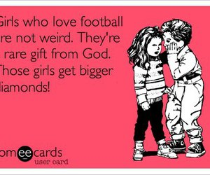ecards and football image