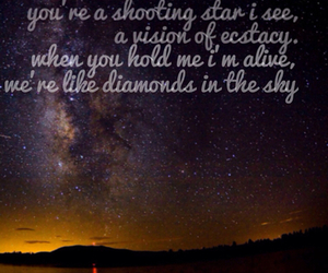 diamonds, sky, and Lyrics image