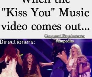 one direction, kiss you, and little mix image