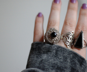 rings, fashion, and photography image