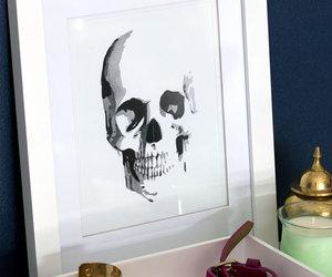 skull, art, and bracelet image
