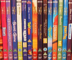 disney, dvd, and movies image