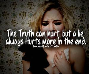 crying, girl, and hurt image