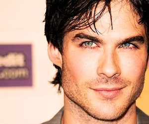 eyes, the vampire diaries, and handsome image
