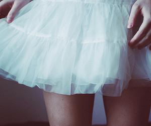 girl, skirt, and dress image