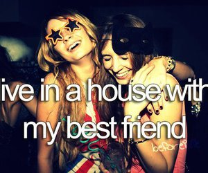 house, best friends, and live image