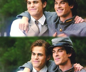 tvd, salvatore, and brothers image