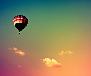 sky and balloons image