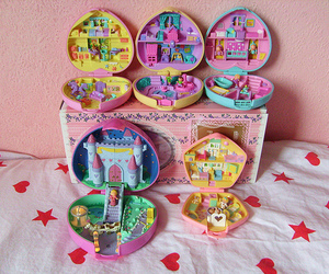polly pocket, 90s, and toys image