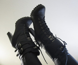 boots, feet, and heels image