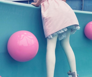pink, model, and dress image