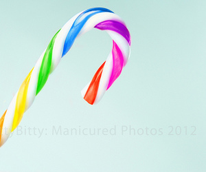 candy and rainbow image