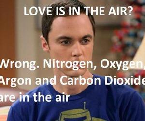love, sheldon, and air image