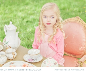 diy, girl, and tea party image