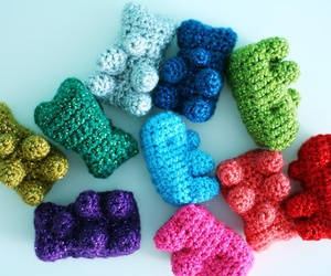 crochet and bears image
