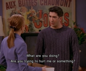 couple, David Schwimmer, and hurt image