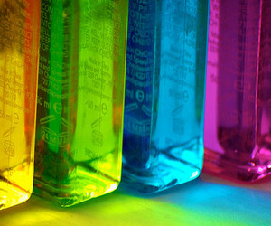 bottle, color, and colorful image