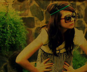 girl, photography, and glasses image