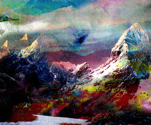 art, mountains, and society6 image