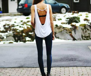 fashion, girl, and lovely image