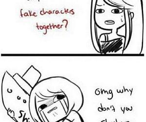 ship, anime, and fandom image