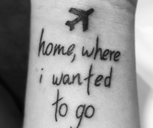 coldplay, tattoo, and black and white image