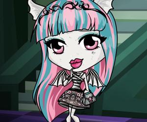 chibi, pastel goth, and rochelle goyle image