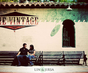 vintage, couple, and photography image