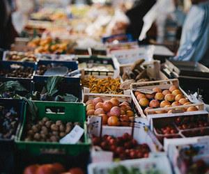 fruit, food, and market image