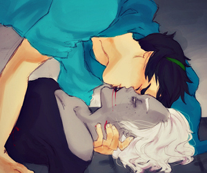 dead, kissing, and john egbert image