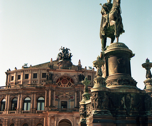 beautiful, dresden, and statue image
