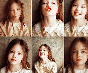 child, pale skin, and little girl image