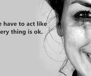 quote, act, and cry image