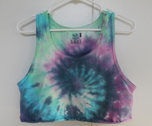 shirt and tie dye image