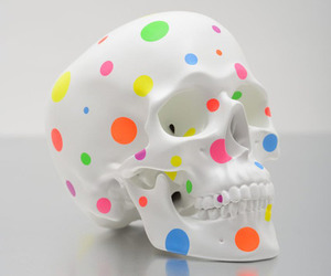points and skull image