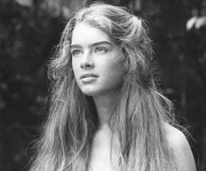 brooke shields, black and white, and pretty image