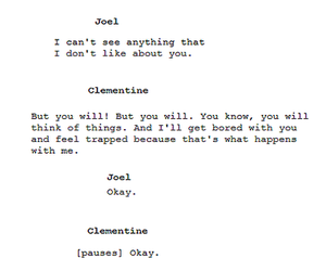 quote, eternal sunshine, and text image