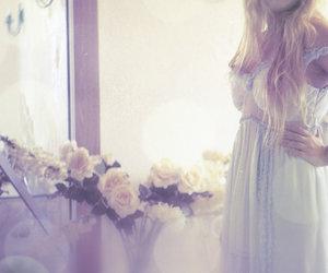 beatiful, girl, and dress image
