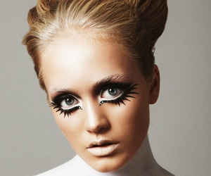 60's, hair, and makeup image