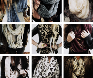 scarf and fashion image