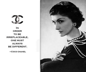 coco chanel, chanel, and quotes image