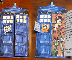 card, add a tag, and doctor who image