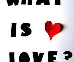 love, heart, and what is love image