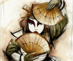 avatar, drawing, and kyoshi warriors image