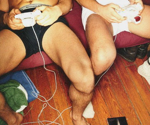 gay, Hot, and videogame image