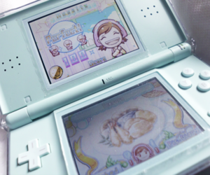 game, ds, and food image