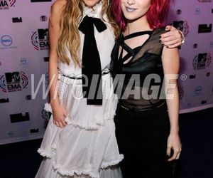 hayley williams and miley cyrus image