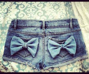 bows, jean, and nice image