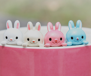 kawaii, cute, and bunny image