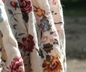 fabric and floral image